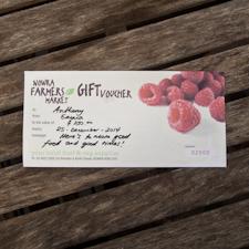 Nowra Farmers Market Gift Voucher